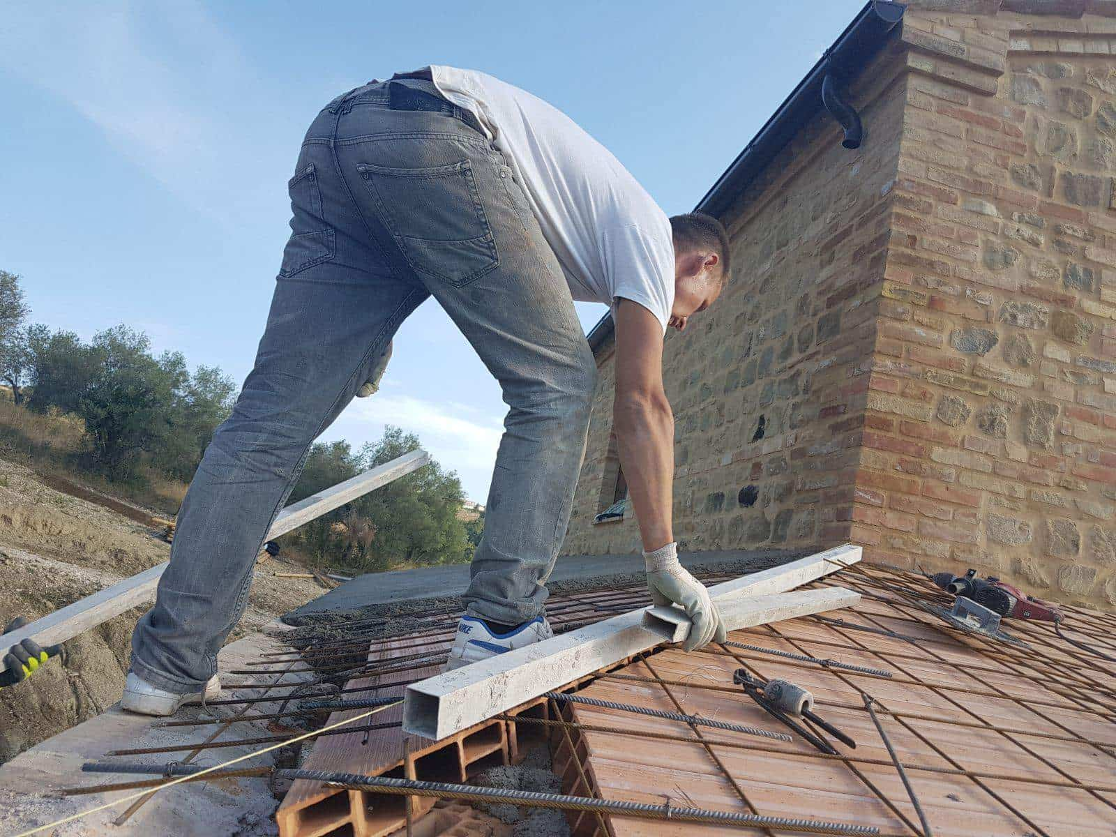 Preparing a Roof Joint