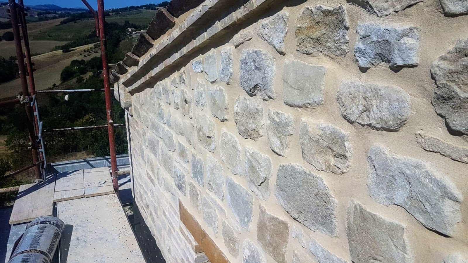 South Side Wall Closeup