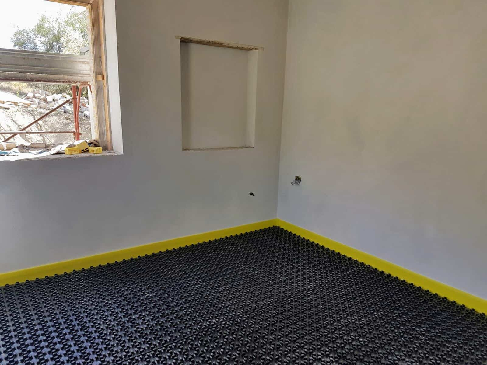 Study with Underfloor Heating Base