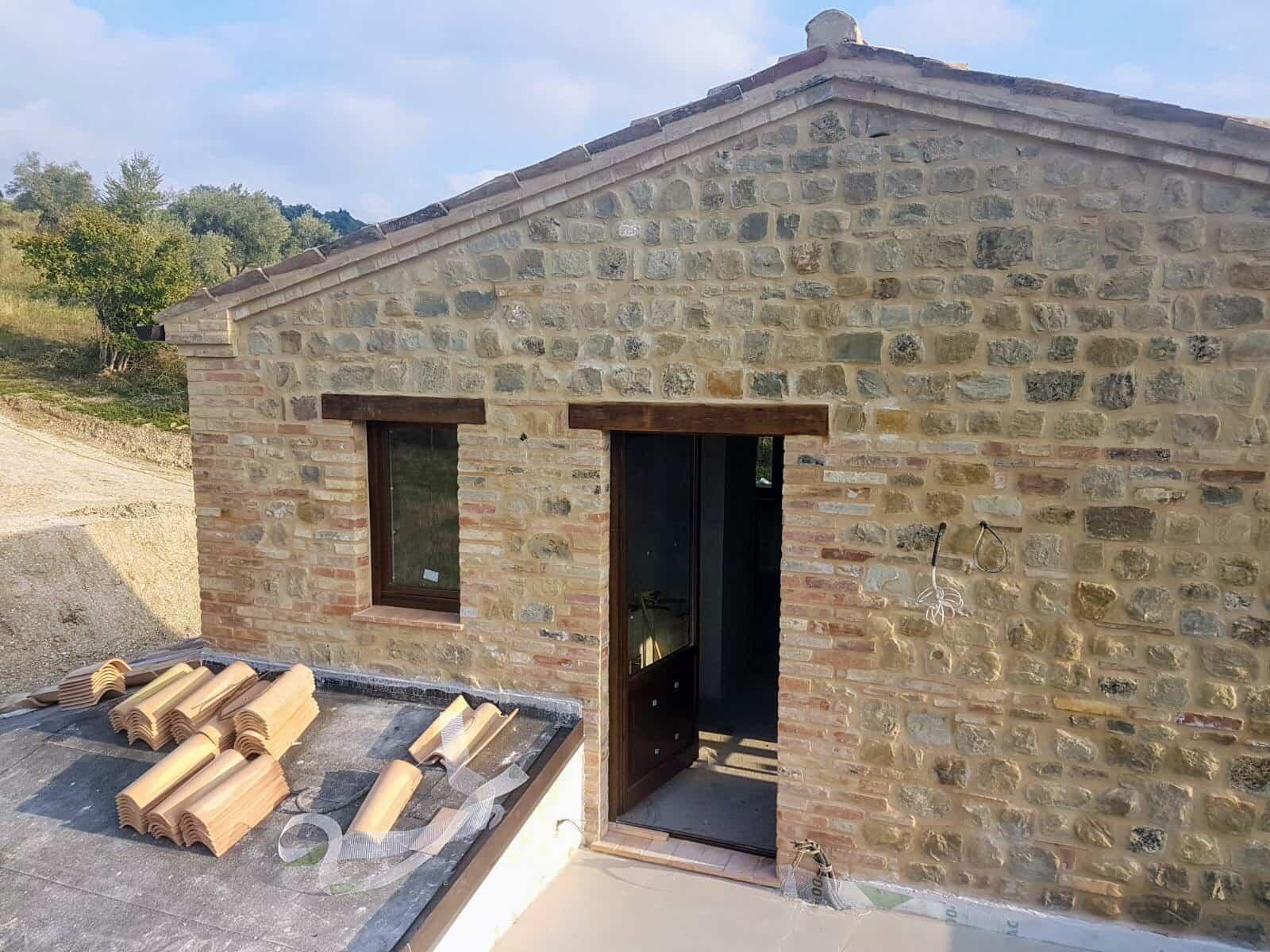 Terrazza with Door Installed