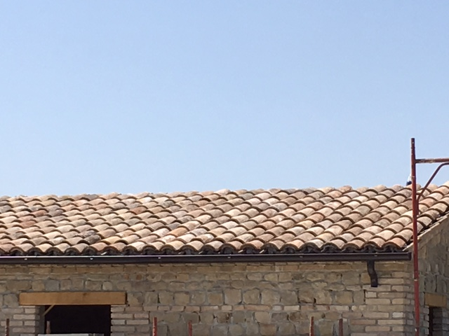 The Roof with Gutters