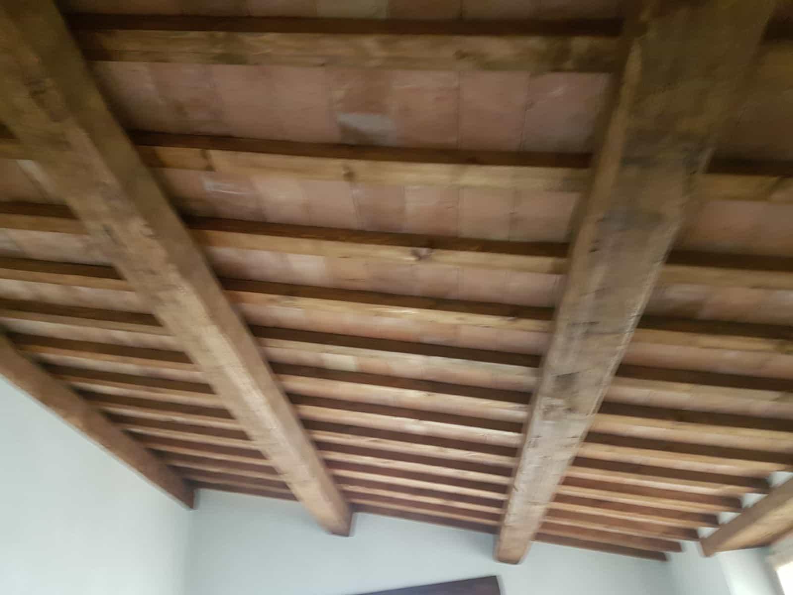 Top Floor Ceiling