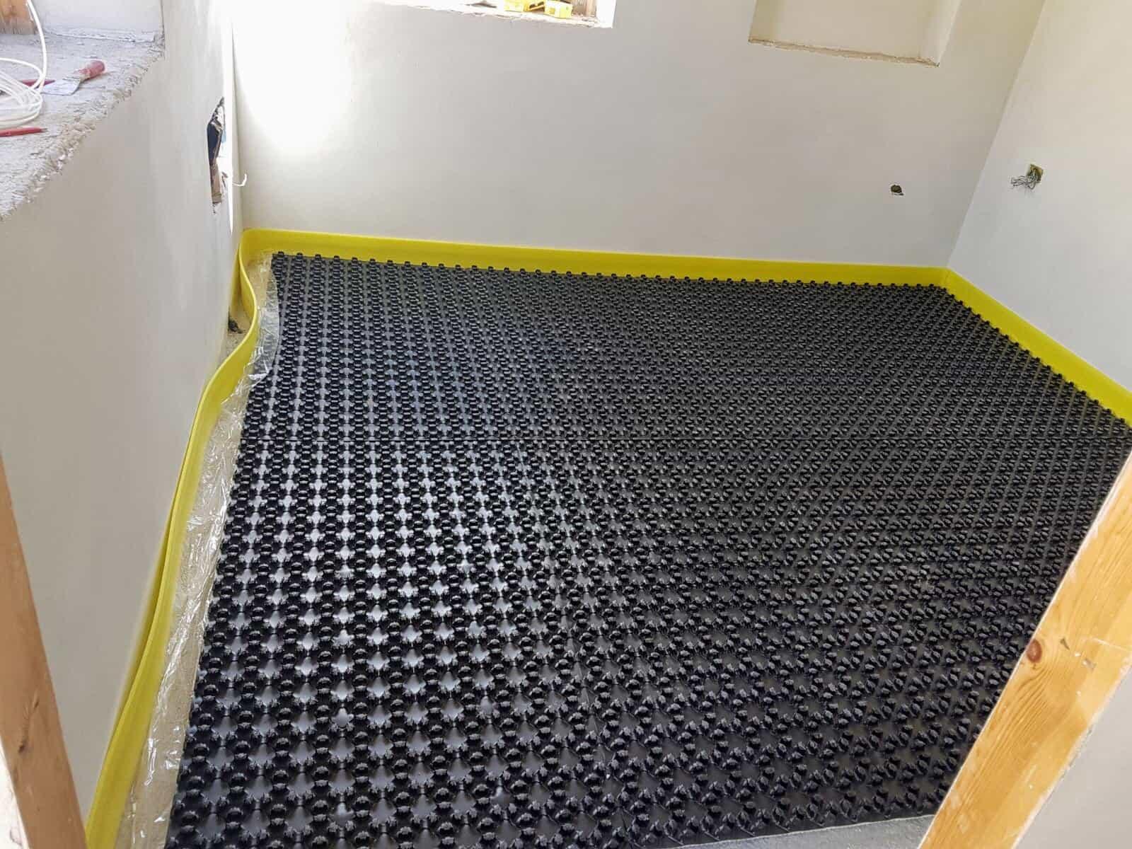 Underfloor Heating Base in Study