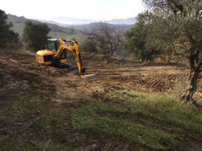 Excavation 6 on site of new construction in Le Marche