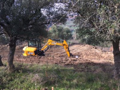 Excavation 7 on site of new construction in Le Marche