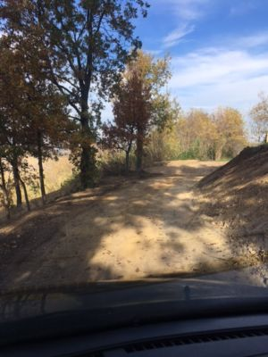 Coming Down the Road 2 on site of new construction in Le Marche
