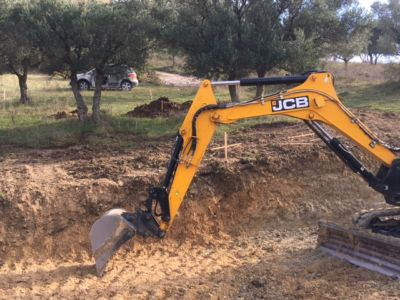 Excavation 3 on site of new construction in Le Marche