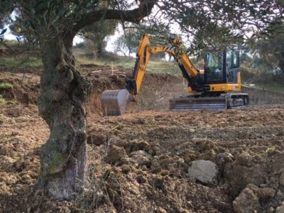 Excavation 4 on site of new construction in Le Marche