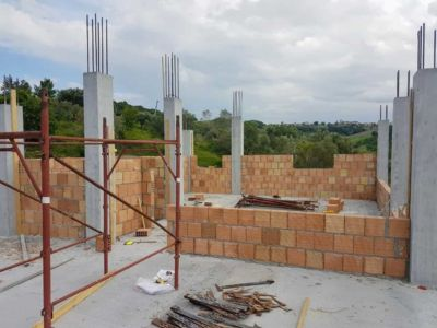 From the Top Floor Terrazza of a new house being built in Le Marche