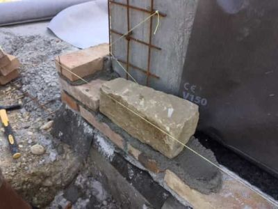 Our Stone Walls Begin on a new stone house in Le Marche