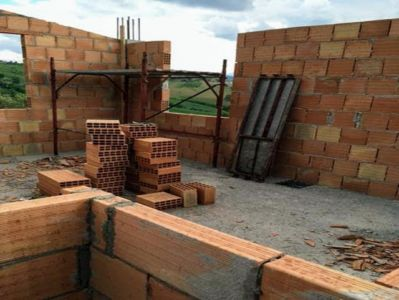 SE Bedroom under construction at a new house building site in Le Marche
