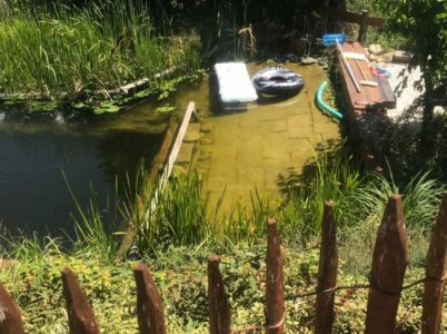 Shallow Part of Natural Pool at Le Foglie Ridenti
