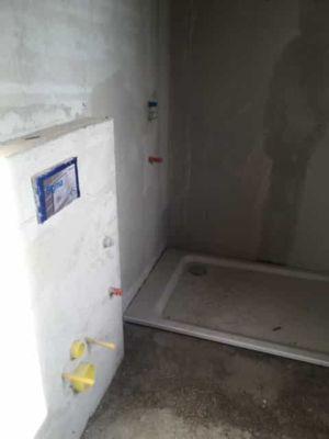 Shower Tray in Master Bath