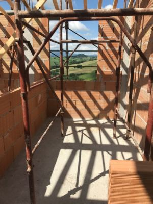 Upstairs Bathroom at a new building site in Le Marche