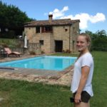 Italian farmhouse with pool