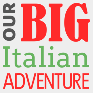Our big Italian adventure logo