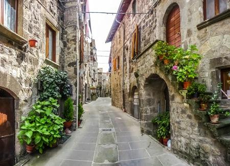 italian village street