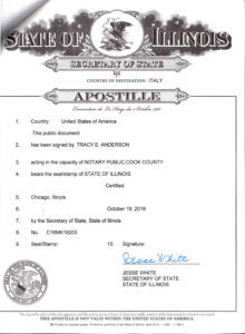Apostille Click image to enlarge
