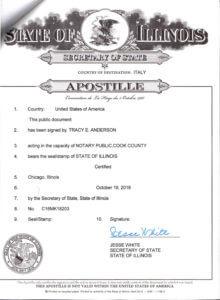 Apostille Click image to enlarge