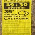 Chestnut festival poster