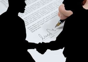 Signing Italian property purchase contract called an atto