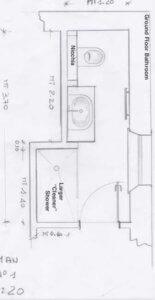 ground floor bathroom design