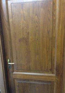 two panel door