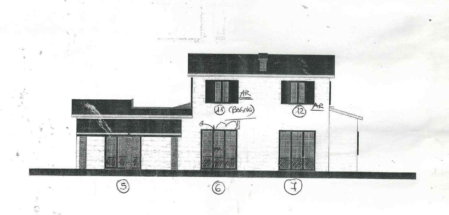 Window and door plan