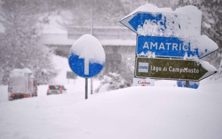 january 2017 snowstorm in le marche