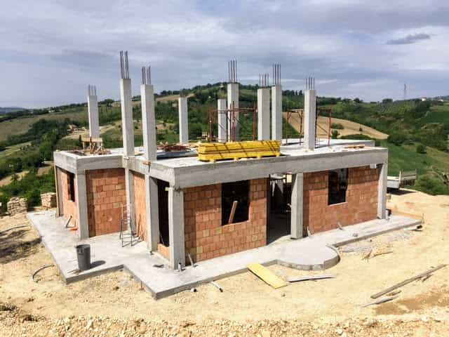 Project Overview of building project in Le Marche, Italy