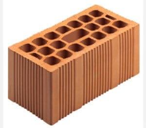 Example Poroton block