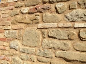 Large Stones Bricks and Shards