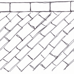 exterior tile pattern