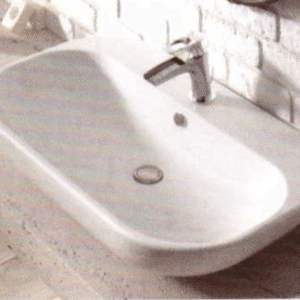 Example bathroom sink