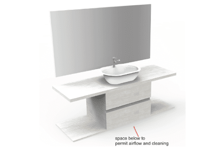 Master bathroom vanity concept