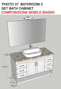 New Upstairs Bathroom Vanity