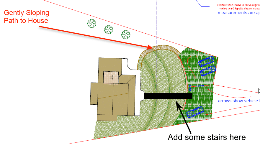 Alessandra's Plan with Added Stairs