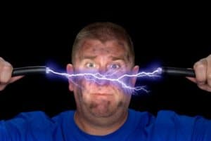 Shock from electricity