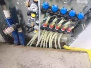 Heating Pipe Connections