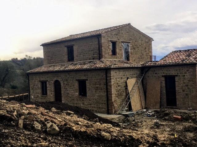 Casa Avventura mid-December 2017