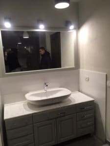 Master Bath Vanity and Mirror