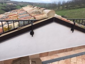 Terrazza Railing at Roof Peak