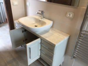 Upstairs Bath Vanity and Sink
