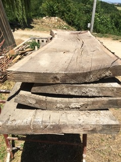 old oak slabs