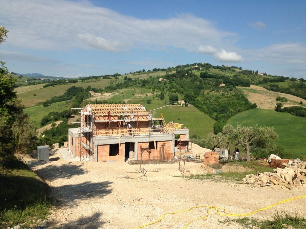 house under construction - May 2017